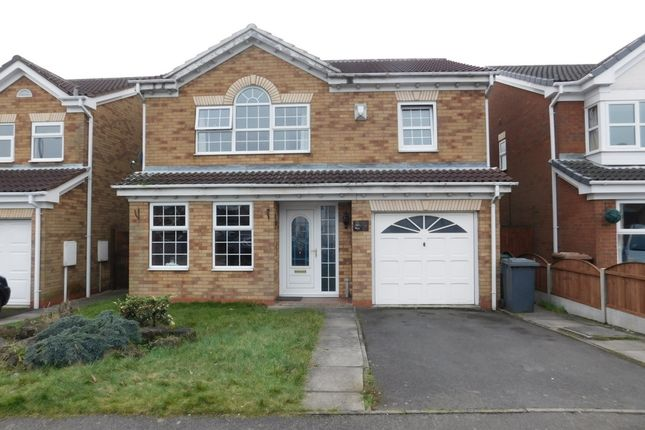 Thumbnail Detached house for sale in Claymar Drive, Newhall