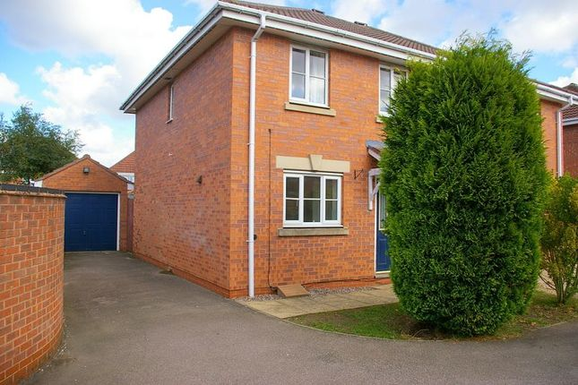 Thumbnail Semi-detached house to rent in Coltsfoot Road, East Hamilton, Leicester