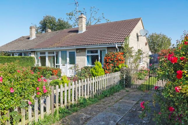 Thumbnail Semi-detached bungalow for sale in Cleevecroft Avenue, Bishops Cleeve, Cheltenham