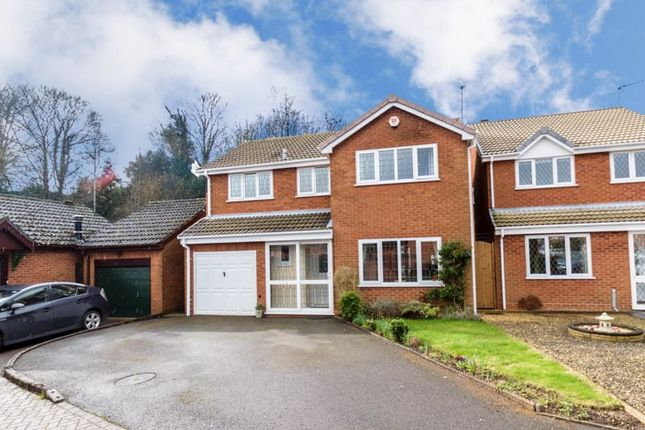 Thumbnail Detached house for sale in Poplar Close, Catshill, Bromsgrove