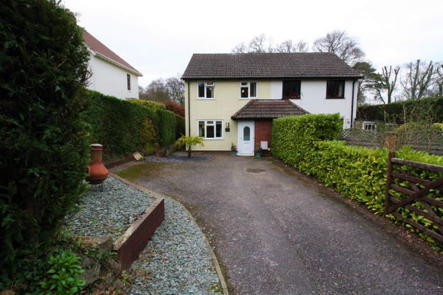 Thumbnail Semi-detached house for sale in Hillside, Bendarroch Road, West Hill, Ottery St. Mary