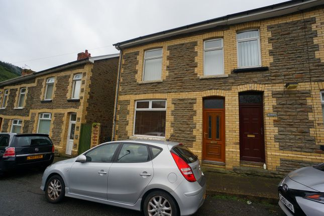Thumbnail End terrace house for sale in Edward Street, Cwmcarn, Newport