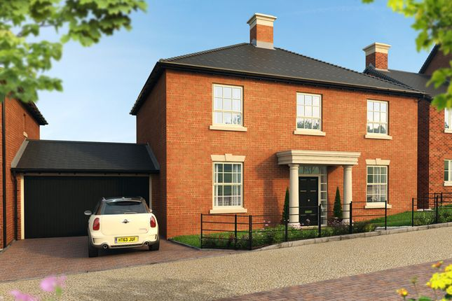 "Thumbnail Detached house for sale in ""The Dashworth "" at Pitt Road, Winchester"