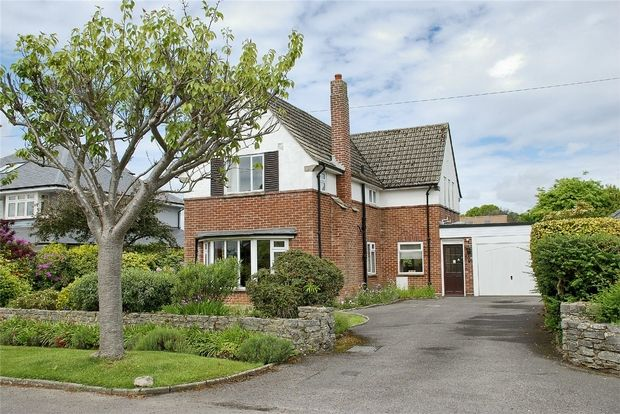 Thumbnail Detached house for sale in Rook Hill Road, Friars Cliff, Mudeford, Christchurch