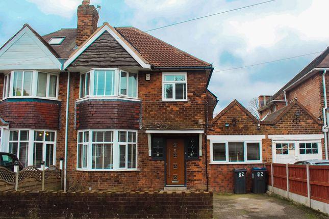 3 bed semi-detached house for sale in Laurel Road, Handsworth, Birmingham B21