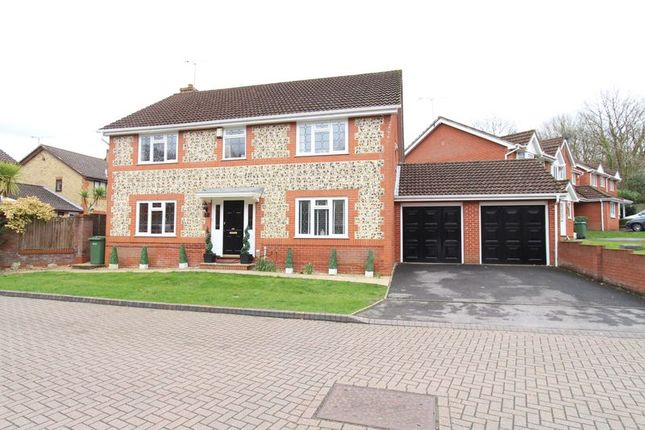 Thumbnail Detached house for sale in Hemingway Gardens, Whiteley, Fareham
