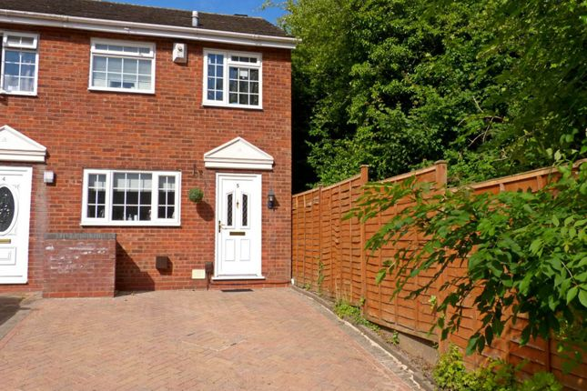 Thumbnail End terrace house to rent in Cheswick Close, Redditch