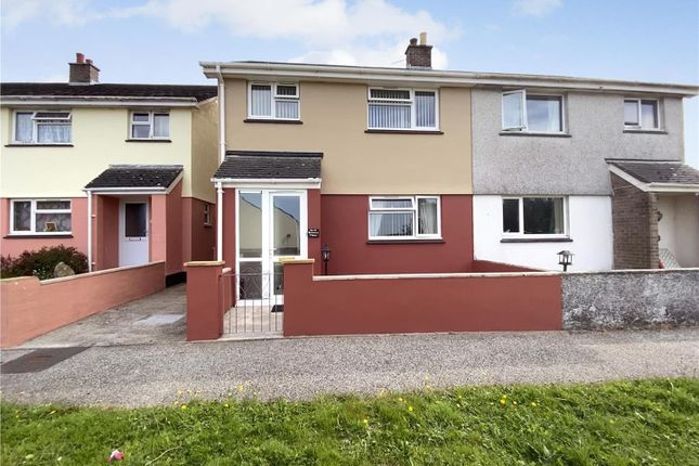 Thumbnail Semi-detached house to rent in Brewers Close, Lanivet, Bodmin