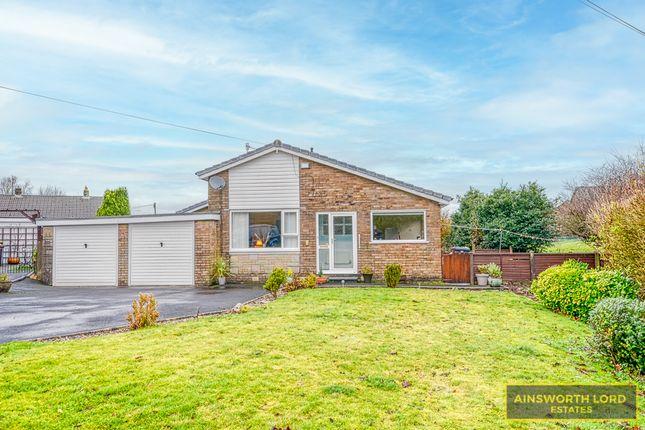 Thumbnail Detached bungalow for sale in Sefton Close, Whitehall, Darwen