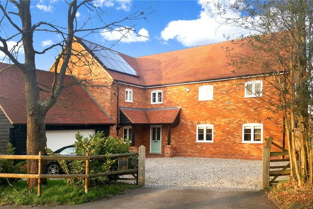 Thumbnail Detached house for sale in Reading Road, Mattingley, Hook, Hampshire