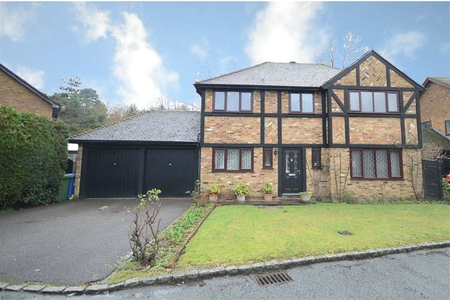 Thumbnail Detached house for sale in Evesham Walk, Sandhurst, Berkshire