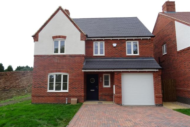 Thumbnail Detached house for sale in Church View, Hugglescote, Leicestershire
