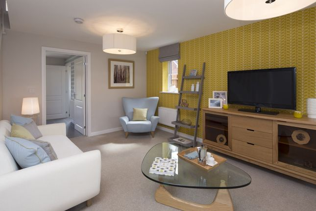 "Thumbnail Detached house for sale in ""Tavistock"" at Saxon Court, Bicton Heath, Shrewsbury"