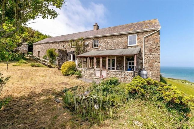 Thumbnail Detached house for sale in Glanymor Farm, Poppit Sands, Cardigan, Pembrokeshire