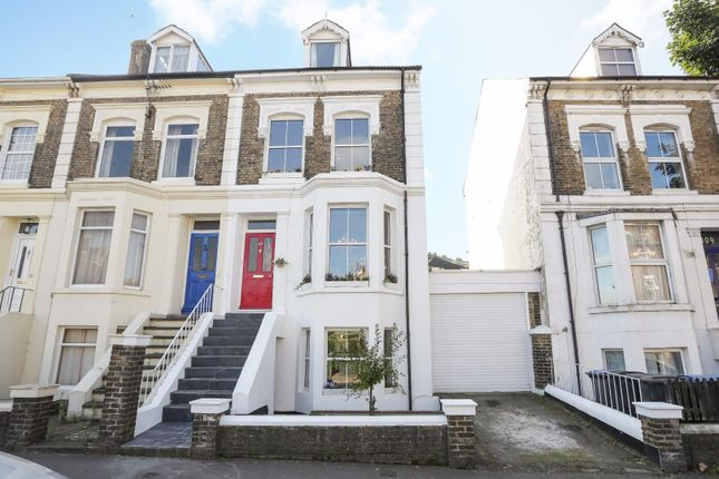 Thumbnail Terraced house for sale in Folkestone Road, Dover