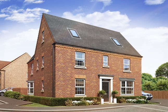 "Thumbnail Detached house for sale in ""Moorecroft"" at Station Road, Langford, Biggleswade"