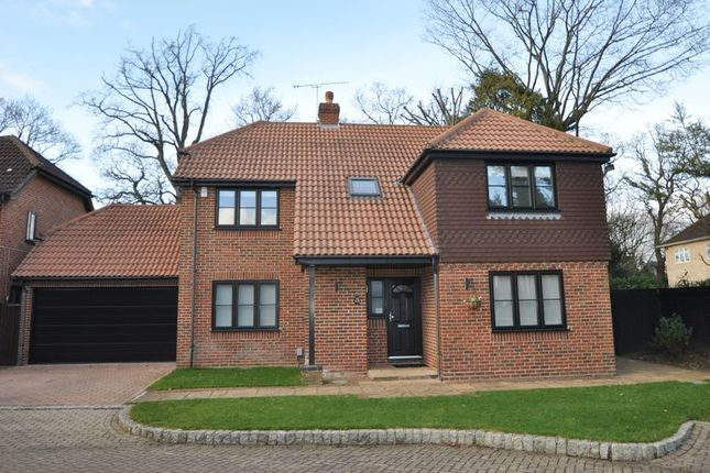 Thumbnail Detached house to rent in Napier Drive, Camberley
