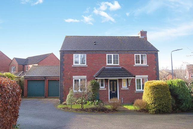 Thumbnail Detached house for sale in Challenger Close, Ledbury