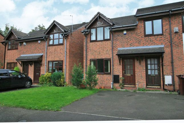 Thumbnail Semi-detached house for sale in Plattbrook Close, Manchester