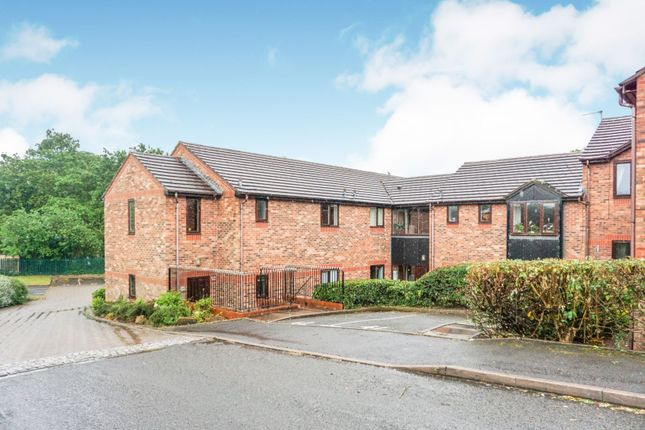 Thumbnail Flat for sale in Woottons Court, Cannock