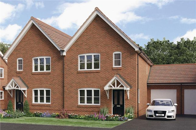 "Thumbnail Semi-detached house for sale in ""Pushkin"" at Worthing Road, Southwater, Horsham"