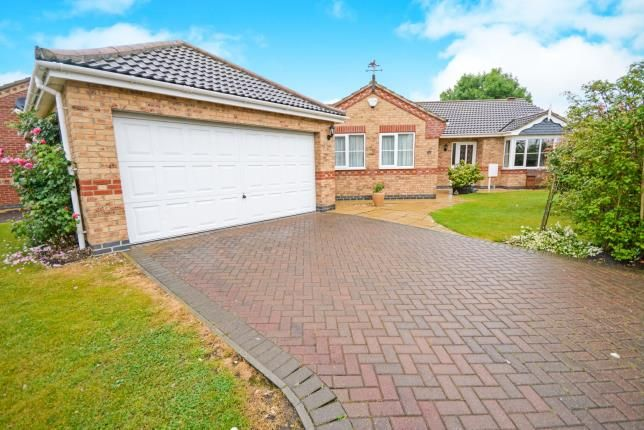Thumbnail Bungalow for sale in Lady Meers Road, Cherry Willingham, Lincoln, .