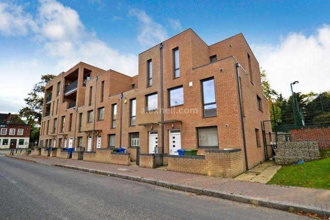 Thumbnail End terrace house to rent in Rotherhithe Street Rotherhithe, London