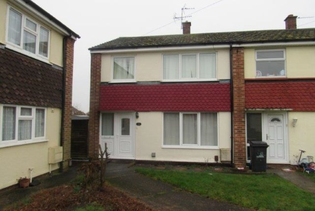 Thumbnail End terrace house to rent in Hutson Drive, North Hykeham, Lincoln