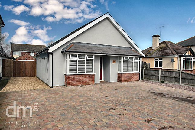 Thumbnail Detached bungalow for sale in Shrub End Road, Colchester