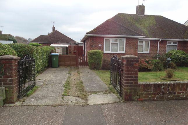 Thumbnail Semi-detached bungalow to rent in Orchard Way, Bognor Regis