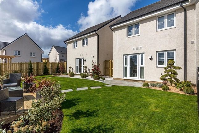 "Thumbnail Semi-detached house for sale in ""Traquair"" at Barochan Road, Houston, Johnstone"
