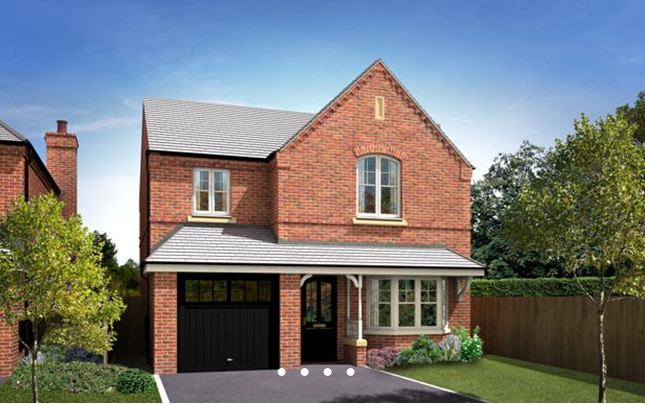 Thumbnail Detached house for sale in The Appleton 2, Hoyles Lane, Cottam, Preston, Lancashire