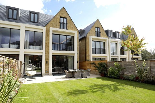Thumbnail Terraced house for sale in Montem Terrace, Montem Square, Wimbledon, London