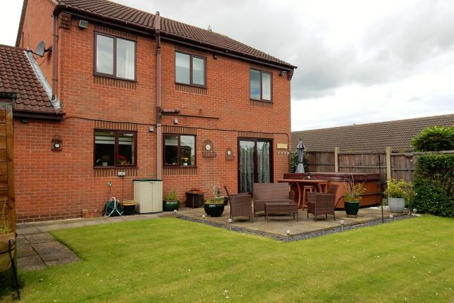 4 bed detached house for sale in Beeley Close, Creswell, Worksop