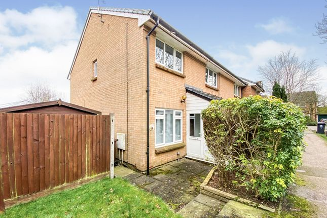 End terrace house for sale in Harness Way, St.Albans