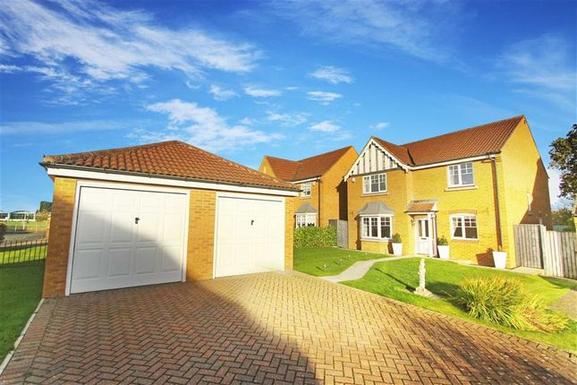Thumbnail Detached house for sale in Longhirst Drive, Cramlington, Northumberland