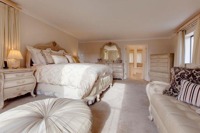 Master Bedroom of Burbage House, Upper Padley, Grindleford, Hope Valley, Derbyshire S32