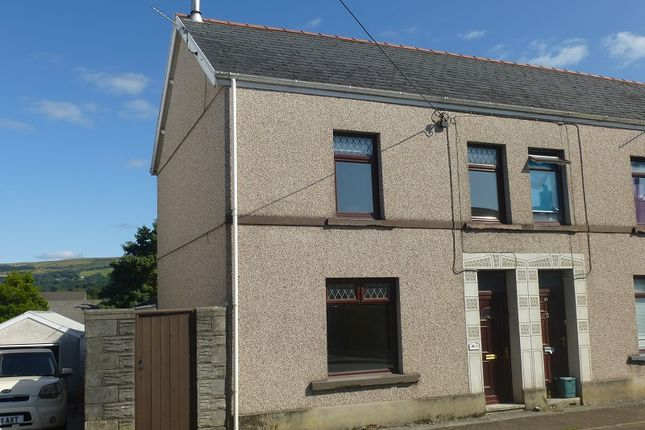 Thumbnail End terrace house for sale in New Road, Ammanford, Carmarthenshire.