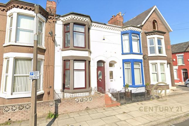 Thumbnail Terraced house to rent in Lenthall Street, Walton, Liverpool