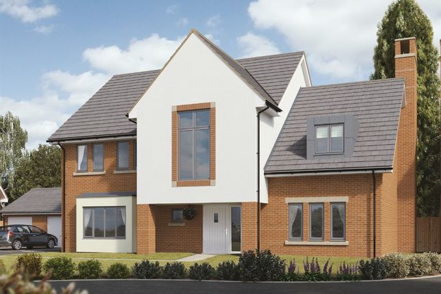 "Thumbnail Detached house for sale in ""Oakland"" at Ark Royal Avenue, Exeter"