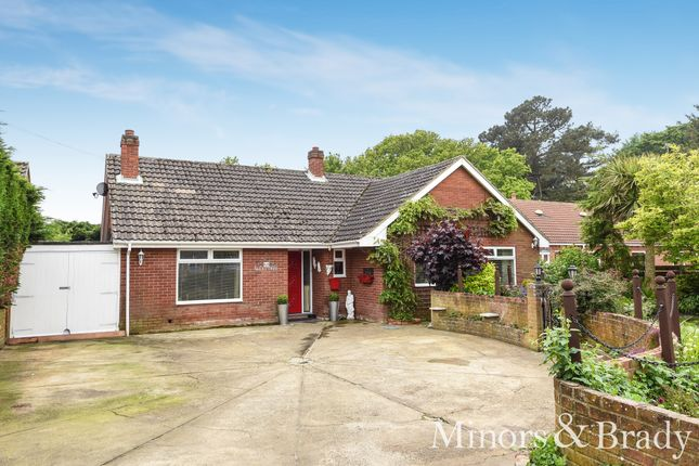 Thumbnail Detached bungalow for sale in Decoy Road, Ormesby, Great Yarmouth