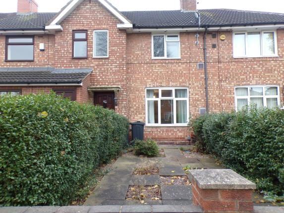 Thumbnail Terraced house for sale in Folliott Road, Birmingham, West Midlands