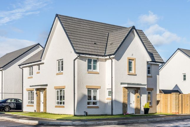 "Thumbnail Semi-detached house for sale in ""Abergeldie"" at Barochan Road, Houston, Johnstone"