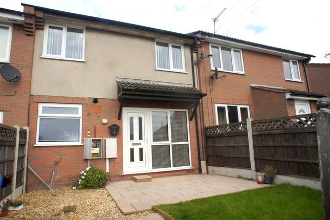 Thumbnail Terraced house to rent in Park Leys Court, Spondon, Derby