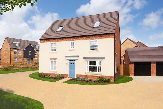 "Thumbnail Detached house for sale in ""Moorecroft"" at Carters Lane, Kiln Farm, Milton Keynes"
