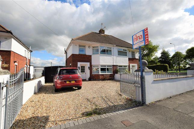 Thumbnail Semi-detached house for sale in Ridgeway Road, Barry