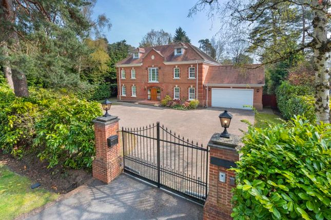 Thumbnail Detached house for sale in Abbots Drive, Wentworth, Virginia Water