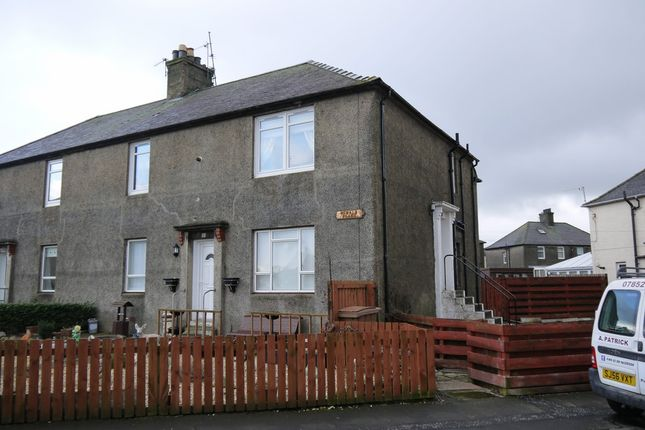 Thumbnail Flat for sale in Oswald Place, Ayr