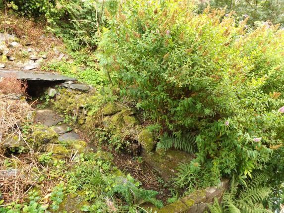Garden of Upper Llwyngell Terrace, Rhiwbryfdir, Blaenau Ffestiniog, Gwynedd LL41
