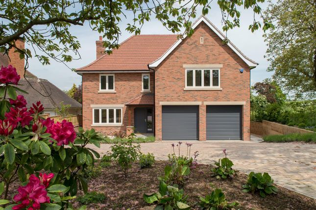 Thumbnail Detached house for sale in Gaddesby Lane, Rearsby, Leicester